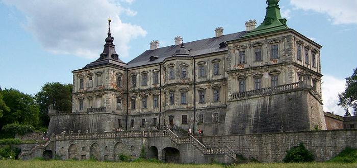 castillos abandonados, ucrania