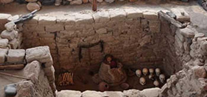 Cementerio de Chauchilla en Perú   Las terroríficas Momias al aire libre