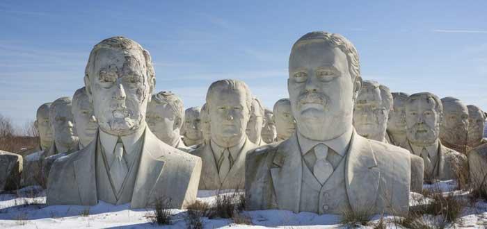 El siniestro Cementerio Fantasma de los Presidentes de EE.UU.