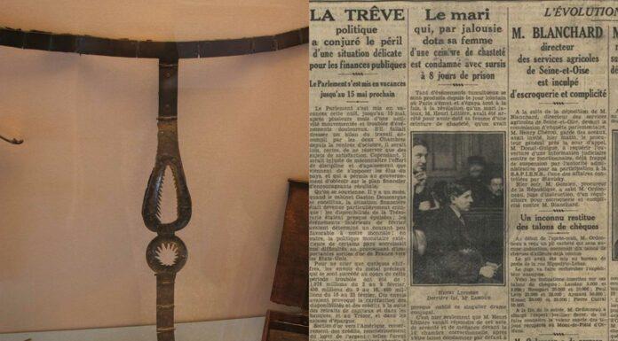El cinturón de castidad, el panadero parisino y su esposa   Un hecho real