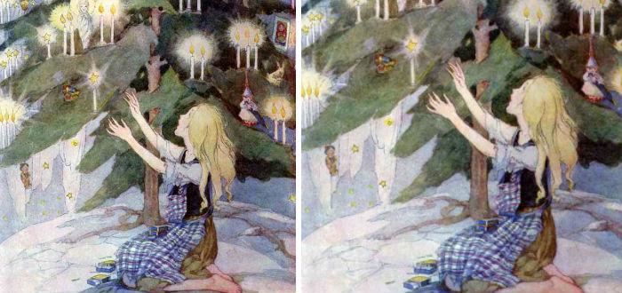 cuentos de navidad, la pequeña cerillera