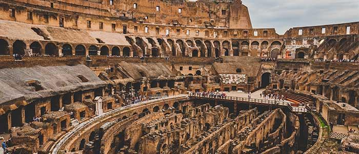 datos interesantes del coliseo romano