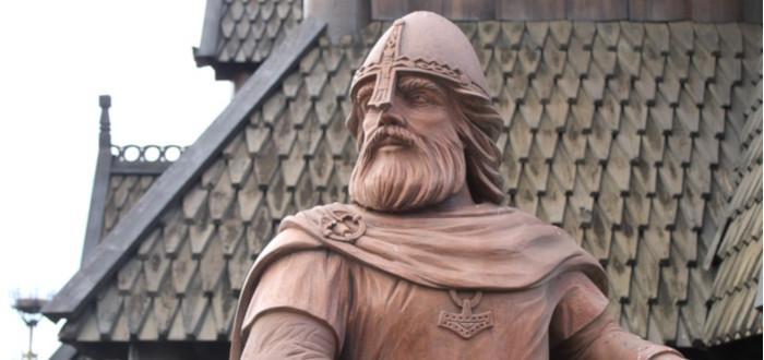 Leyendas Vikingas estatua