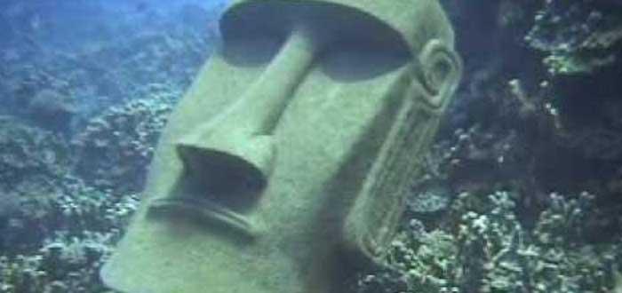 El Moai sumergido de la Isla de Pascua | ¿Existe realmente?