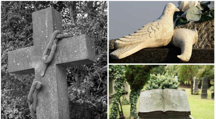 Símbolos en las lápidas de los cementerios | Cómo interpretarlos
