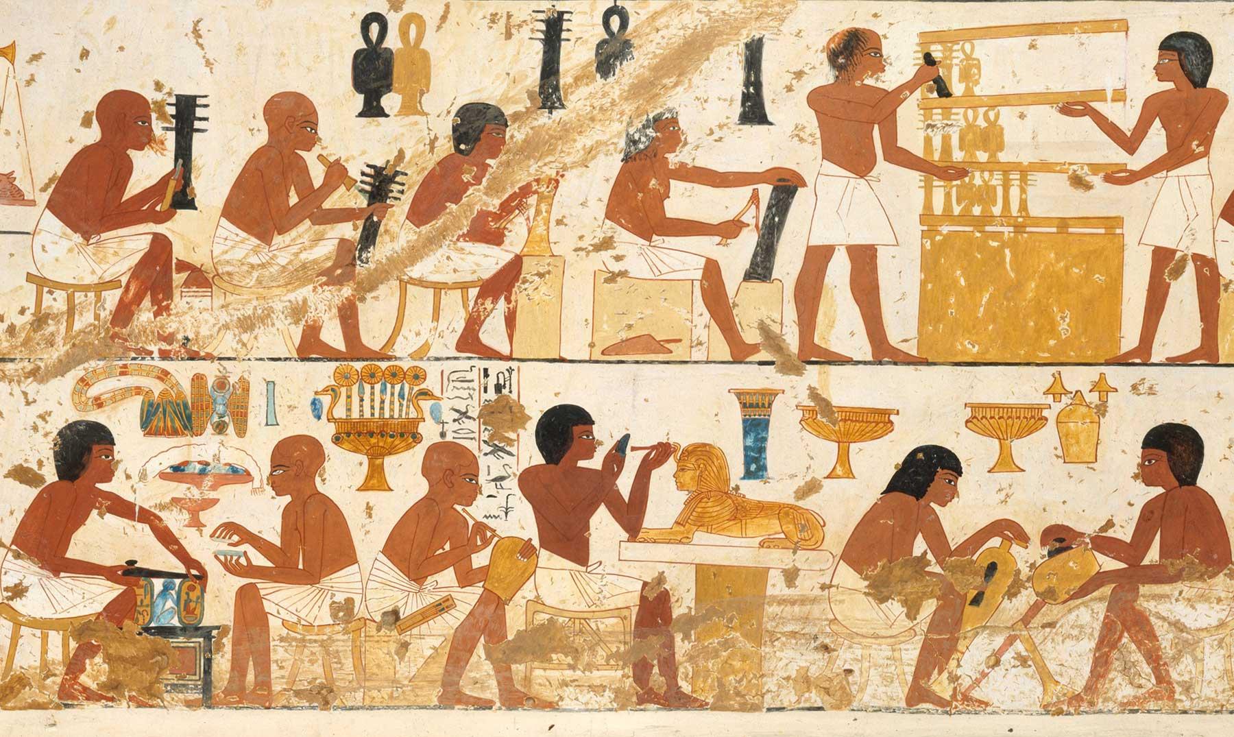 Los Artesanos Del Antiguo Egipto 10 Curiosidades Sobre Ellos