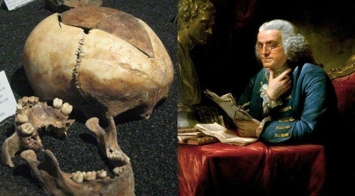 Los restos humanos encontrados en casa de Benjamin Franklin | ¡6 niños!