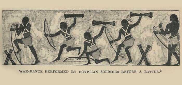 Danza egipcia antigua
