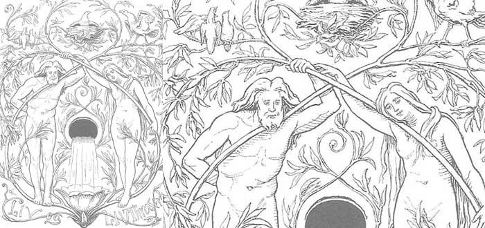mitologia nordica creacion del hombre