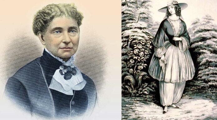 Amelia Bloomer | Sufragista y reformadora de la ropa femenina