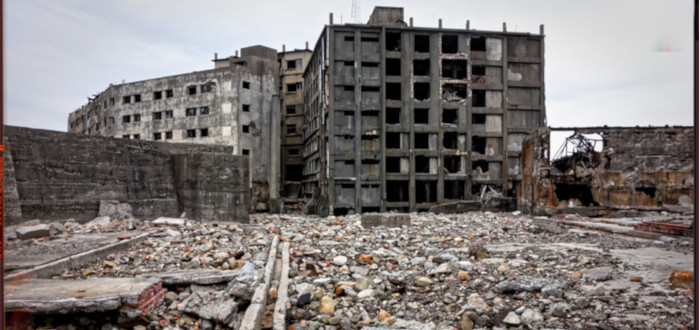 Ciudades Abandonadas Hashima