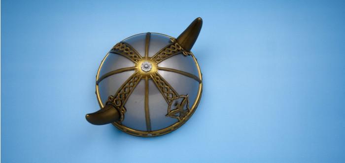 Cuerno Vikingo casco