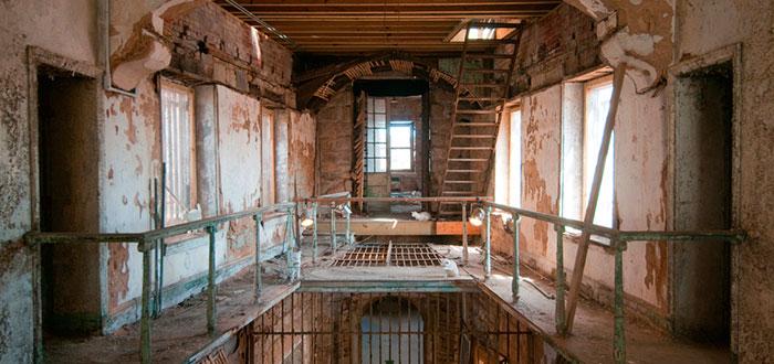 edificios abandonados, penitenciaría