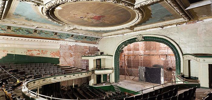 edificios abandonados, teatro orpheum