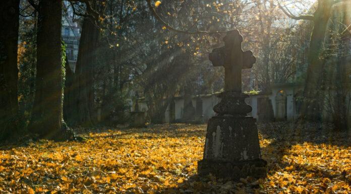 Fantasmas en el cementerio