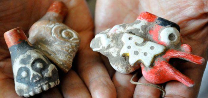 ¿Qué es el silbato de la muerte azteca?