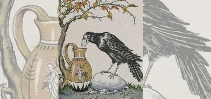 La fábula El Cuervo y la Jarra de Esopo podría ser verdad | Descúbrelo