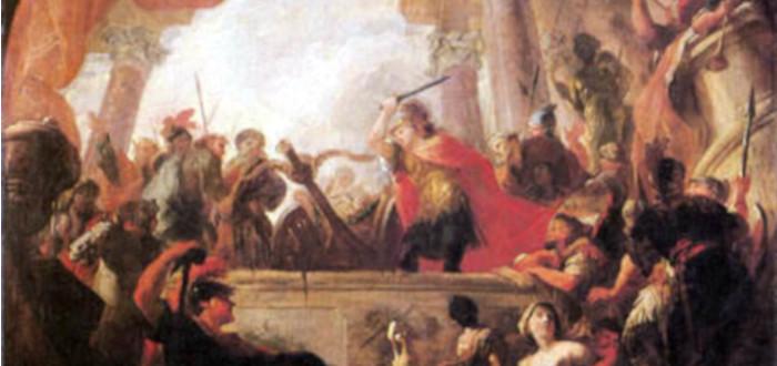 El nudo gordiano Alejandro