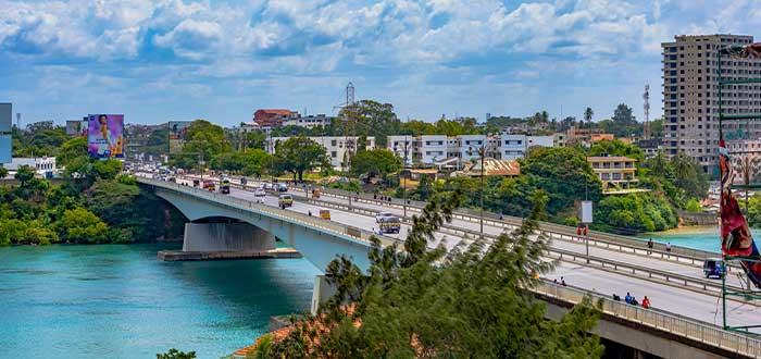 ciudad mombasa en Kenia