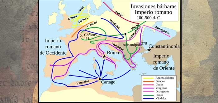 Las Invasiones Bárbaras | Todo sobre este periodo histórico