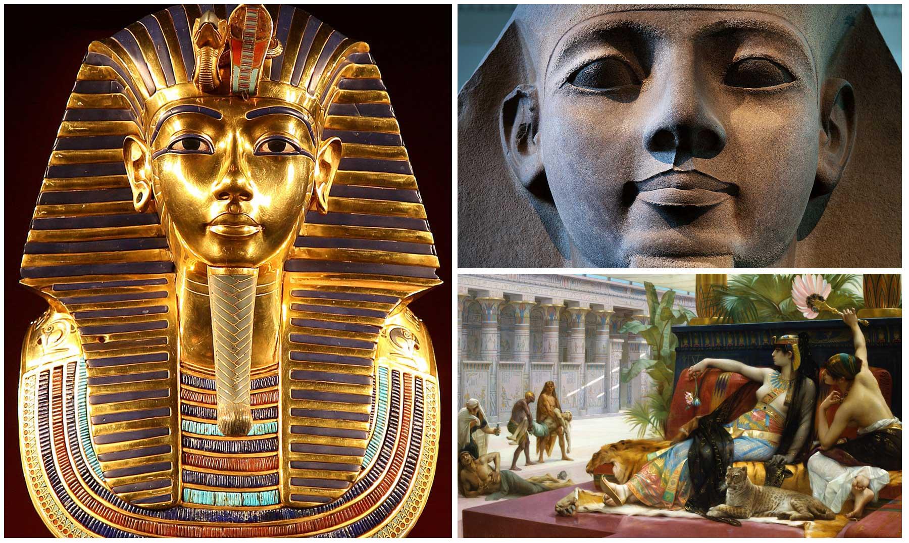 Faraones Egipcios 10 Importantes Figuras Del Antiguo Egipto