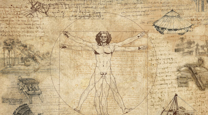 Cuadernos de Leonardo Da Vinci