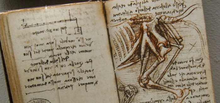 Cuadernos de Leonardo Da Vinci libro