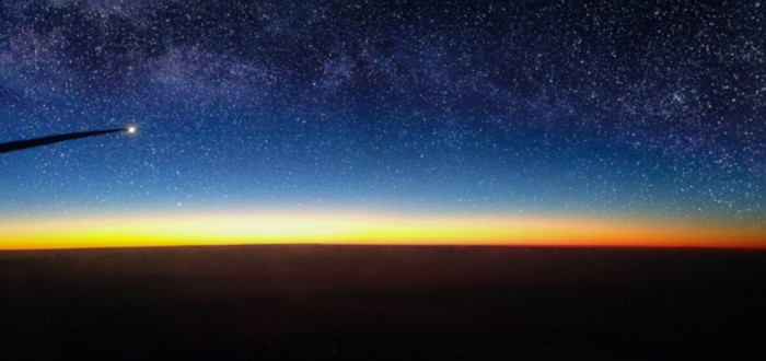 Estrellas del Universo avión