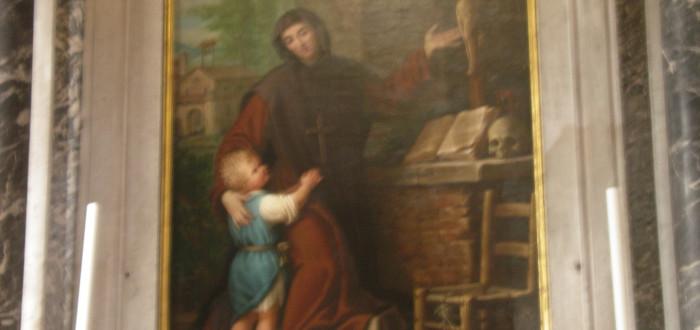 Historia de Santa Marina cuadro