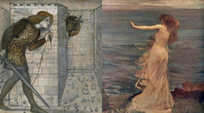 Teseo y Ariadna | Más allá de la Leyenda del Minotauro