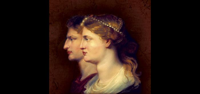 Germanico y Agripina por Peter Paul Rubens.