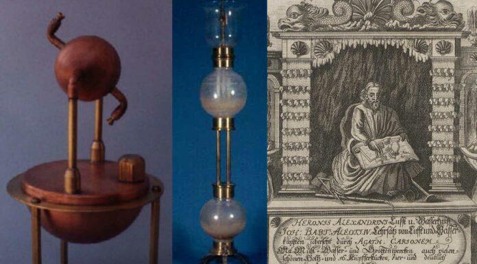 Magia en la antigüedad: la eolípila y la fuente de Herón