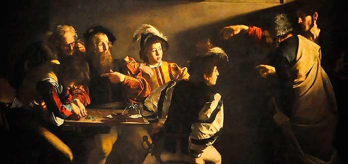 Obras de Caravaggio 1 | La vocación de San Mateo