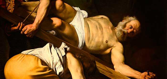 Obras de Caravaggio 5 La crucifixión de San Pedro