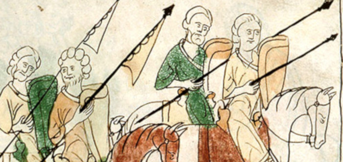 Batalla de las Navas de Tolosa cavalleros