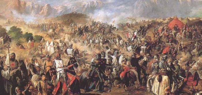 Batalla de las Navas de Tolosa detalle