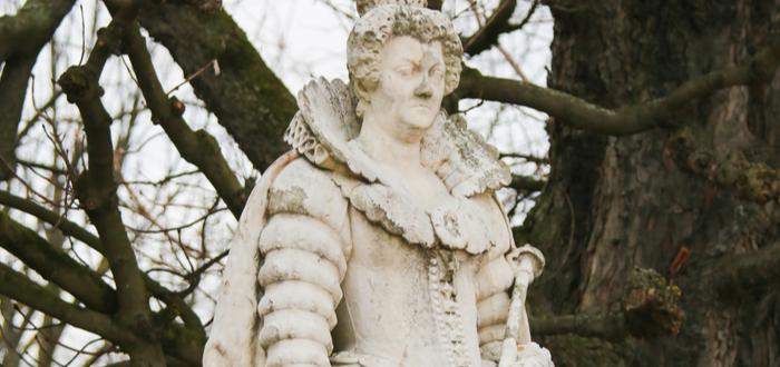 Estatua de Maria De Medici en Francia.