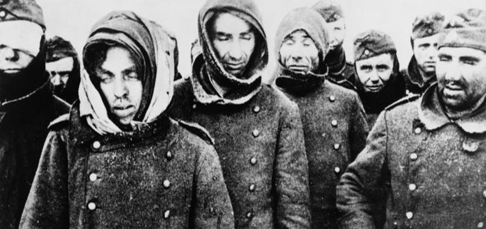 Prisioneros alemanes tomados