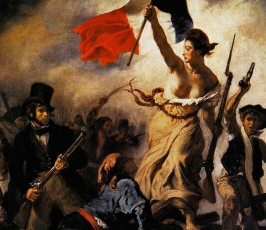 La libertad guiando al pueblo   Significado e importancia en la historia 1