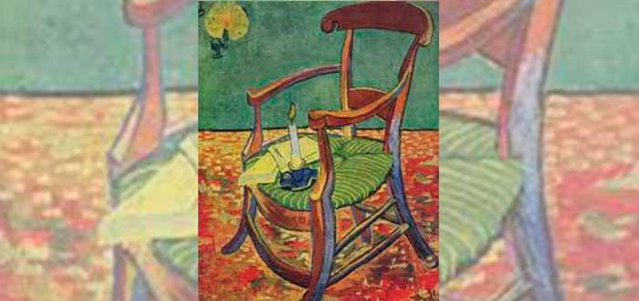 5 Pinturas de Van Gogh | La silla de Gauguin