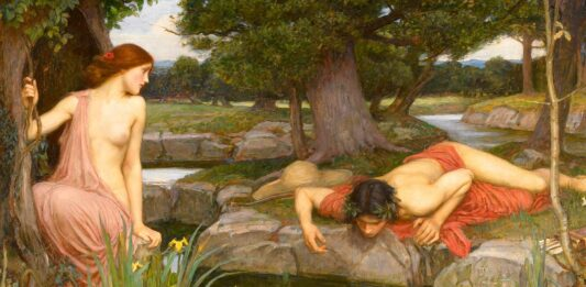 Mito de Eco y Narciso | La flor que brotó de un amor imposible