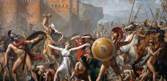 El Rapto de las Sabinas | El origen mitológico de Roma 1