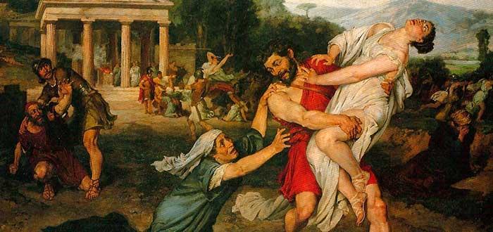 El Rapto de las Sabinas | El origen mitológico de Roma 2