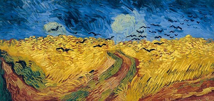 5 Pinturas de Van Gogh | Trigal con cuervos