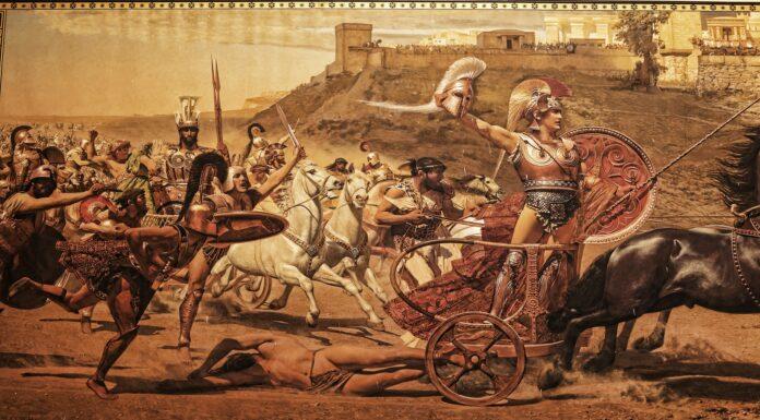 a Muerte de Aquiles | El héroe de la Guerra de Troya