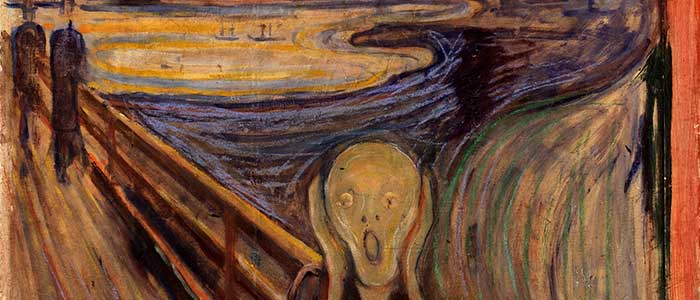 historia de la pintura el grito
