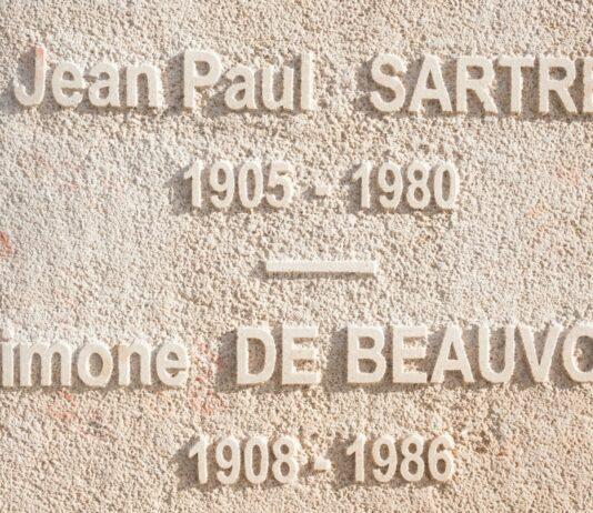 Jean-Paul Sartre y Simone de Beauvoir   Amor e intelectualidad