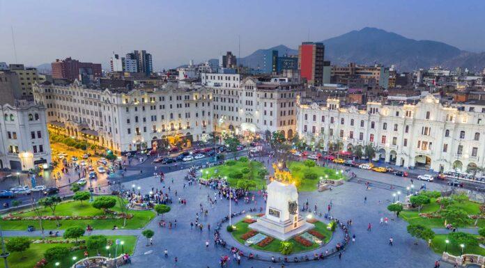 Lima capital de peru