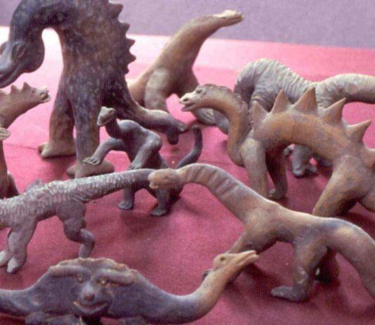 Figuras de Acámbaro   Defendidas por los creacionistas como verdaderas
