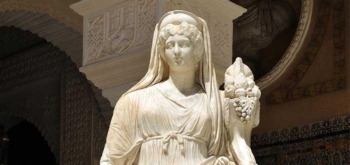 Diosas griegas | Rea, diosa de la naturaleza